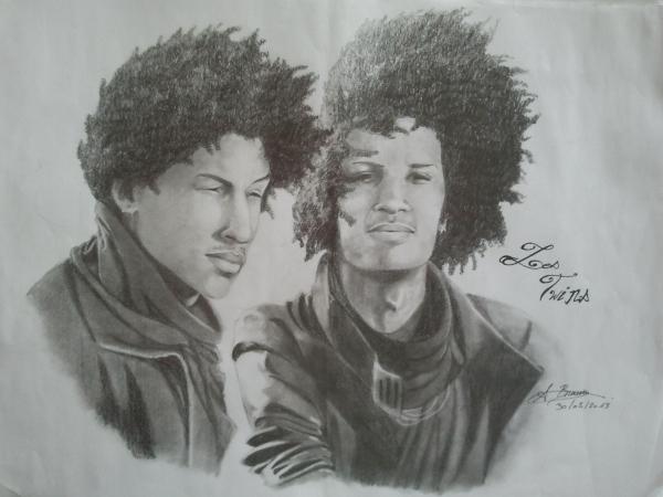 Les Twins by loule